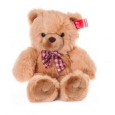AURORA Игрушка мягкая Медведь с клетч.бантом 80 см