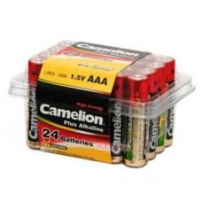 Батарейки АAA алкалин  Camelion Plus (Alcaline LR03-24BP1,5V)