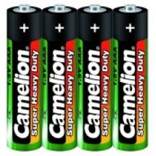 Батарейки АAA солевая Camelion (r6p-sr-4, 1,5В)
