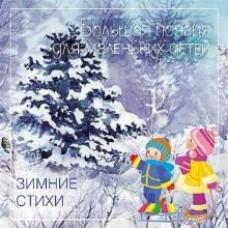 Книга Большая Поэзия для маленьких детей Зимние Стихи