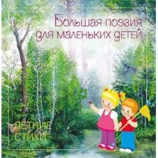 Книга Большая Поэзия для маленьких детей Летние Стихи
