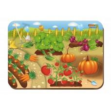 Деревянный вкладыш Овощи 011601
