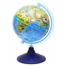 Глобус Зоогеографический 210мм