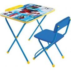 Парта - Набор Мебели Человек Паук стол+стул мягк. Д2Ч