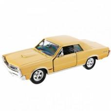 Игрушка модель винтажной машины 1:34 Pontiac GTO 1965