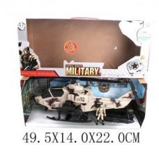 Игр. набор Вооруженные силы, фигурка 1 шт вертолет, лодка,
