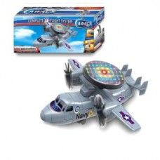 Самолет,вращение 2-х винтов Y513163