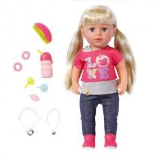 Кукла Baby born Сестричка 43см в кор.