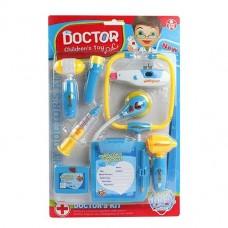 Игровой набор Доктор синий , свет ,звук. короб.