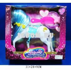 Лошадь для куклы с аксес-ми в ас-те
