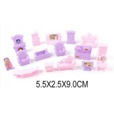 Набор мебели для куколки 16 предм