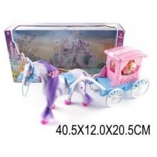 Карета с лошадью и куклой 686-714