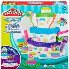 """Игровой набор для лепки """"Праздничный Торт"""" Play-Doh"""