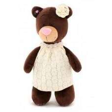 Медведь Milk в кружевном платье 25 М5057/25