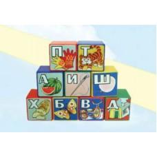 Кубики алфавит 9шт 5113
