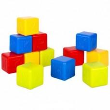 Кубики Азбука 12 дет в сетке