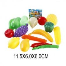 Набор Овощей и фруктов 16пр. сетка