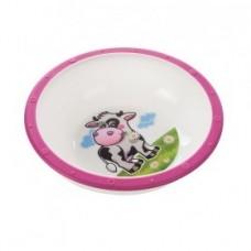 Миска пластиковая Little cow, 4+ Canpol
