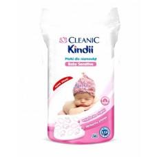 Cleanic Кинди Ватные диски для младенцев, 60 шт.