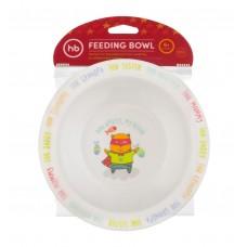Глубокая тарелка д/кормления Happy Baby 15016