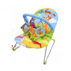 Кресло-качалка Веселый динозаврик( с музыкальной коробкой)