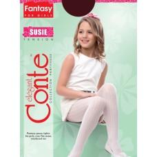 Колготки детские п/а SUSIE размер 104-110 pink