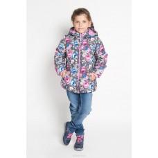 Куртка текстильная для девочек размер 104-56-51 PlayToday 362052