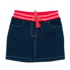 Юбка текстильная джинсовая для девочек 122-60-54 PlayToday 362117