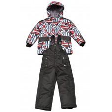 Комплект для мальчика HIPPO HOPPO К-05043 разм.122 черн-красн.