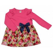 Платье (80-92см) разм. 92 мал.розы UD 2143 (PLLD005)