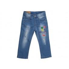 Брюки джинсовые для девочек