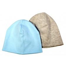Комплект из 2-х шапок 17-7019 ММ Мамуляндия (Интерлок разм. 48 ассорти)