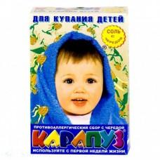 Соль для ванн детская Карапуз Череда 500 гр.