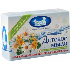 Наша Мама Детское мыло Ромашка с Чистотелом 90 гр. для чувств. кожи