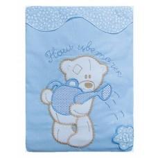 Комплект Постельного белья Сабина голубой