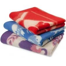 Одеяло жаккардовое 100*140 шерсть