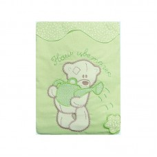 Комплект Постельного белья Сабина зеленый