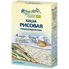 Каша Органик рисовая гипоаллергенная 4 мес. 175г Флёр Альпин