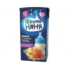 ФруттоНяНя - Кашка мол. из 5 злаков с персиком 200гр