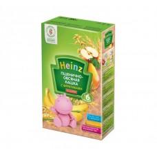 Хайнц- кашка пшенично-овсяная с фруктиками, 6 мес., 200г