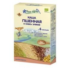 Каша Органик пшенично-овсяная с кусоч. банана и яблока 10 мес. 175г Флёр Альпин