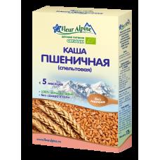 Каша Органик пшеничная (спельтовая) 5 мес. 175г Флёр Альпин
