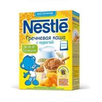 НЕСТЛЕ Каша Молочная Гречка с Курагой 250г