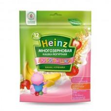 Хайнц-(пауч) кашка йогуртная многозерн.банан, клубника, 4 мес., 200г