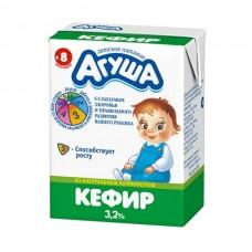 """Кефир """"Агуша"""" 3,2% от 8-ми месяцев 204мл"""