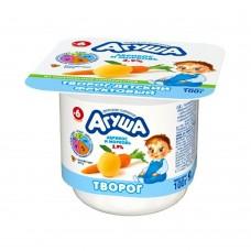 """Творог фруктовый """"Агуша"""" Абрикос-морковь 3,9% 100г стакан"""