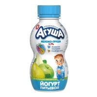 """Йогурт питьевой """"Агуша"""" Яблоко груша 2,7% 200гр"""