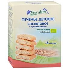 Печенье детское Органик с пребиотиками с 6мес 150г Флёр Альпин