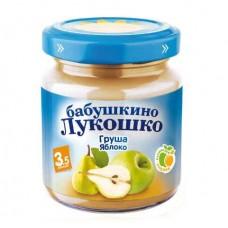 """Пюре из груш и яблок """"Бабушкино лукошко"""""""