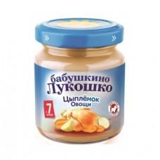 """Пюре Рагу овощное с цыпленком """"Бабушкино лукошко"""""""